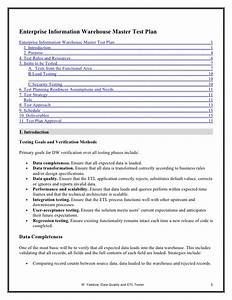 Test case design template9 software test plan template for Technical data package template