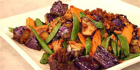 japanese eggplant stir fry recipes food network canada