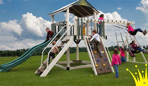 vinyl wooden swingsets amish playsets nj