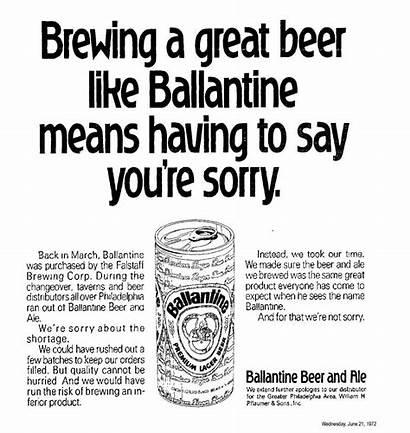 Ballantine Distributors Independent Beer