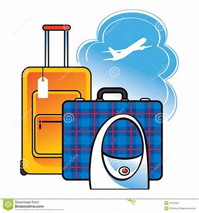 Travel Clipart Suitcase Luggage Airport Bag Plane