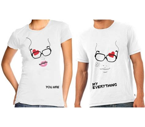 couple  shirts specs design