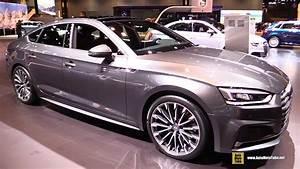 Audi A5 Sportback 2018 : 2018 audi a5 sportback exterior and interior walkaround 2017 chicago auto show youtube ~ Maxctalentgroup.com Avis de Voitures