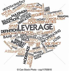 Clipart of Leverage - Abstract word cloud for Leverage ...