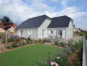 Maison Plain Pied En L : maison bois plein pied avec bardage canexel nos maisons ~ Melissatoandfro.com Idées de Décoration