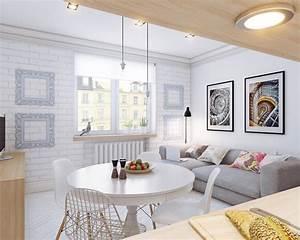 Casabook Immobiliare: Arredare piccoli spazi giocando con i colori: 25 mq straordinari