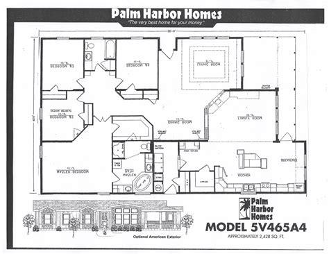 1995 fleetwood mobile home floor plans