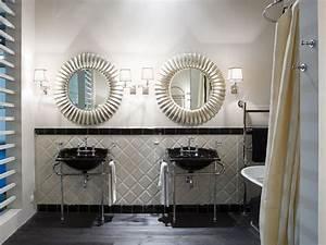 Miroir Rond Salle De Bain : miroir rond avec cadre pour salle de bain joy by gentry home ~ Nature-et-papiers.com Idées de Décoration