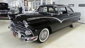 1955 Ford Crown Victoria 33092 Miles Black 2 Dr Ht 272
