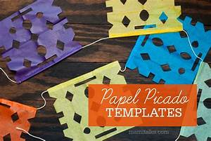 papel picado templates mami talkstm With papel picado template for kids