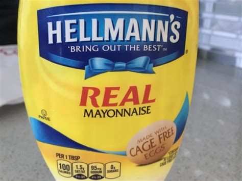 Best Foods Real Mayonnaise Nutrition Information