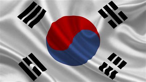 Asian, South Korea, Flag, Korean, White Silk, Taegeukgi