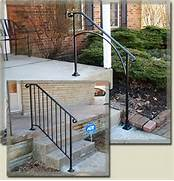 Outdoor Metal Handrails For Stairs by 17 Best Ideas About Outdoor Stair Railing On Pinterest Deck Stairs Deck St