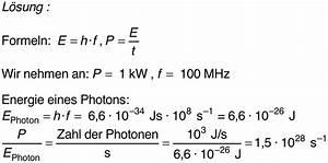Photonenanzahl Berechnen : licht photonen ~ Themetempest.com Abrechnung