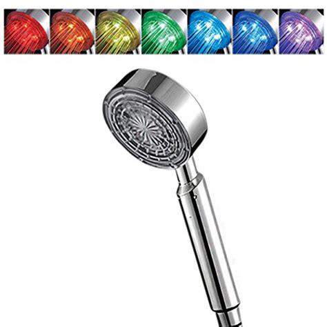 duschpaneel led beleuchtung 2 ancheer led duschkopf mit 7 verschiedenen farben duschköpfe