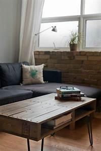Table Basse Palettes : la table basse palette 60 id es cr atives pour la ~ Melissatoandfro.com Idées de Décoration