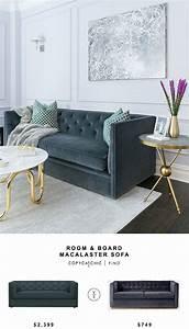 Room Board Macalster Sofa For 2399 Vs West Elm