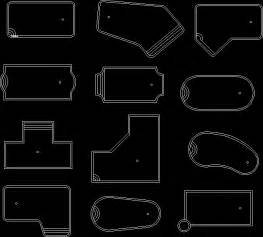 Swimming Pool - Top Views DWG Block for AutoCAD • Designs CAD