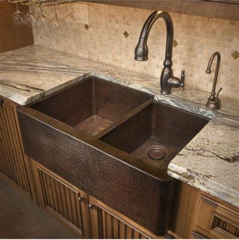 copper farm sinks for kitchens duet farm sink decora 231 227 o casa cozinha 8335