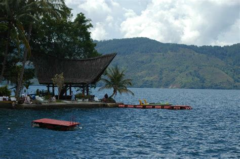 adventure bunga biru danau toba indonesia
