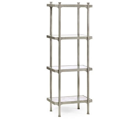 What Is Etagere by 201 Glomis 233 Silver Iron Narrow Four Tier 201 Tag 232 Re