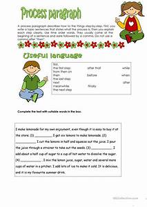 10 Free Esl Process Worksheets