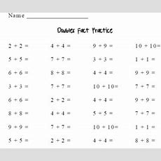 Double's Facts Practice By Brooke's Math Corner By Brooke's Math Corner