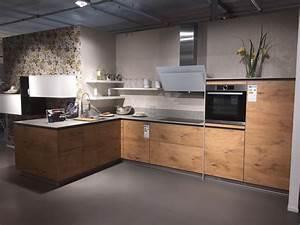 Arbeitsplatte Küche Eiche : grifflose k che in astoria eiche nb und 12 mm keramik ~ A.2002-acura-tl-radio.info Haus und Dekorationen