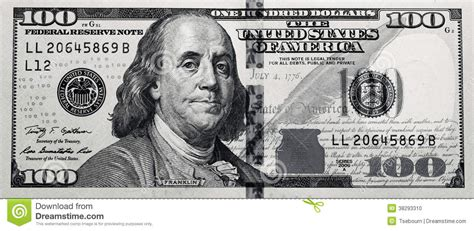 five dollar bill clipart black and white grungy black white 100 bill stock photo image 38293310