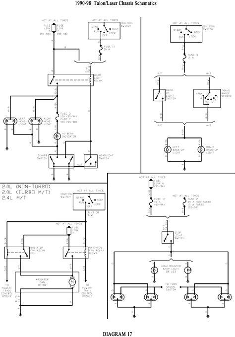 Wiring Diagram 1990 Eagle Talon by 1995 Eagle Talon Engine Diagram Imageresizertool