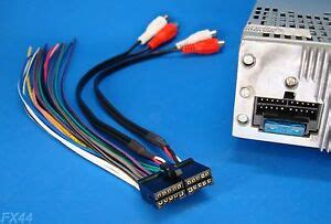 xo vision 20 radio wire harness stereo power back clip xod1752bt ebay