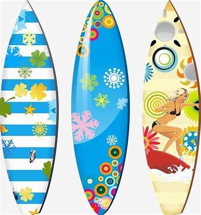 Surfboard Background Surf Vector Transparent Clip Beach