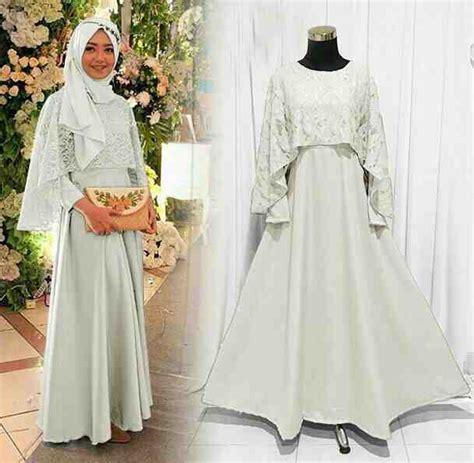 baju gamis muslim pria terbaru model baju gamis pesta brokat putih model baju