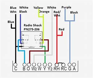 Heating And Cooling Thermostat Wiring Diagram