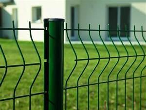 Grillage Rigide Monsieur Bricolage : poser un grillage en panneaux soud s entretenez et ~ Dailycaller-alerts.com Idées de Décoration