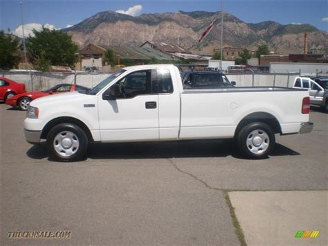 ford truck white 2004 ford f150 xlt regular cab in oxford white c61946