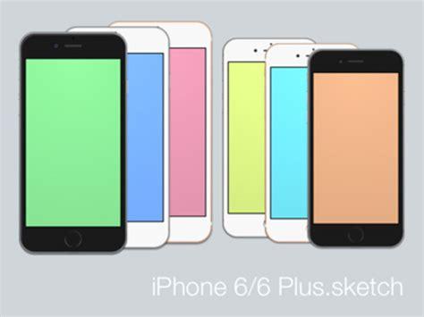 free iphone 6 plus free iphone 6 and iphone 6 plus mockups psd ai sketch