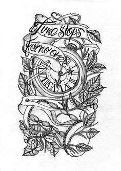 Smoke Weed Tattoo Stencil