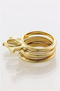 love letter stackable ring the shopping bag With stackable letter rings