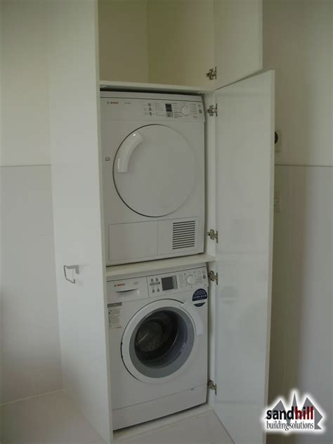 Tumble Dryer In Cupboard by Complete House Renovation With Loft Conversion Streatham