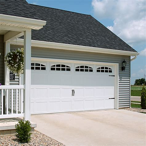 vinyl garage doors residential garage doors garage door solutions