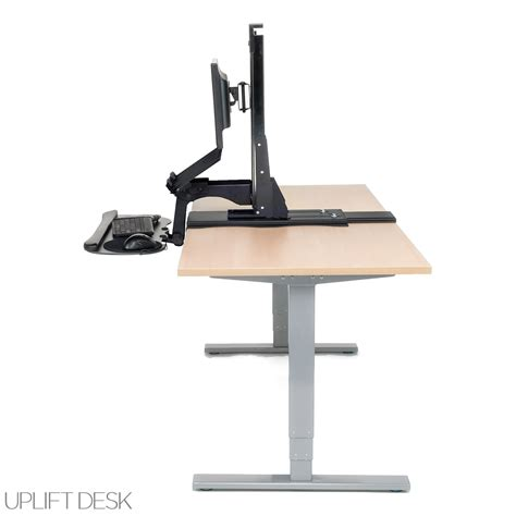 Best Standing Desk Converter For Laptop by Shop Uplift Standing Desk Converters