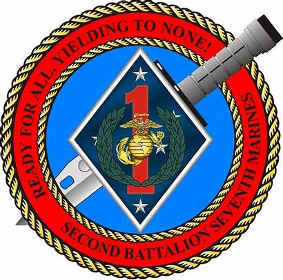 Battalion Marines 7th 2nd Insignia Infantry Marine