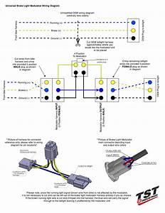 How To Install Tst Universal Brake Light Modulator  U2013 Tst