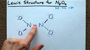 N2o5 lewis structure how to draw the lewis structure for ...