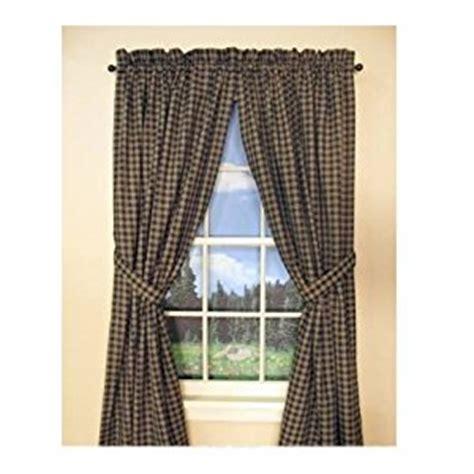 Sturbridge Curtains Park Designs Curtains by Park Designs Quot Sturbridge Quot Country Black Panel
