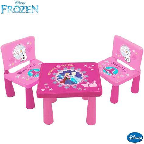 tavolo per bambini tavolo tavolino per bambini disney frozen con 2 sedie