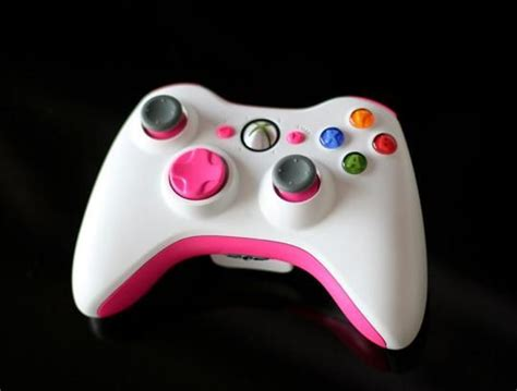 diy painted xbox controller   touch  pink