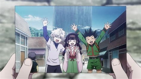hunter ep  kite koala gon killua alluka life