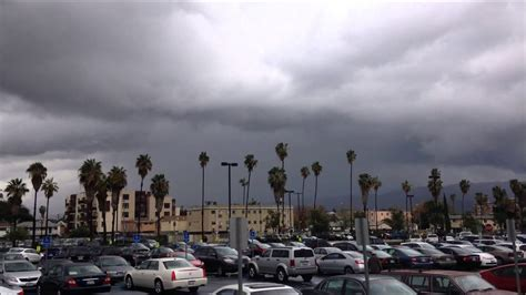heavy thunderstorms los angeles ca youtube